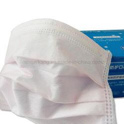 Ткань Non-Woven 3-слойные нетканого материала к хирургу маску для лица с Earloop