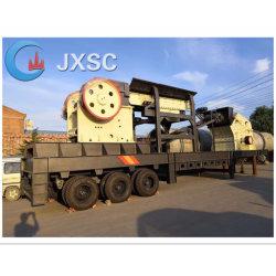 Les fabricants de béton Mobile agrégat calcaire usine de broyage de pierre de granit