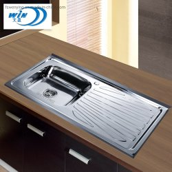 CQC zugelassene moderne Edelstahl-Küche-Wanne Wy10050b