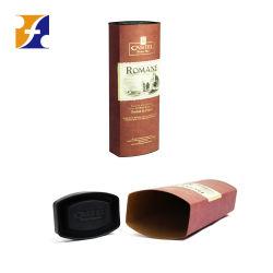 Forme ronde ovale en carton spécial Papier Tube des emballages de vin