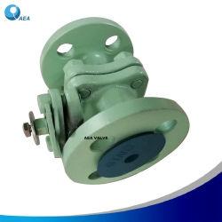 BS chinês 5351 Alta qualidade de aço fundido UM216 Wcb a extremidade do flange Rptfe Inserto do Assento flutuante da válvula de esfera com Alavanca