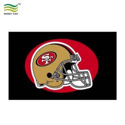 ポリエステルサンフランシスコ49ers NFLのフットボール・チームのロゴ3 ' x5のフラグ