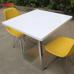 عادة - يجعل مربّعة صلبة سطحيّة [فست فوود] طاولة وكرسي تثبيت