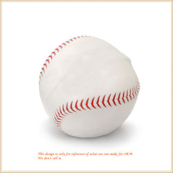 Soft jouet en peluche de Baseball Sports de gros de jouets pour enfants