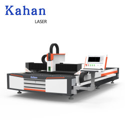 セリウム標準500W 1000W 1500W 2000W Ipgのシングル・ベッドのファイバーレーザーの金属の切口機械