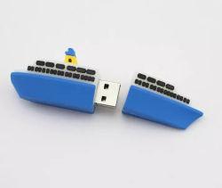 カスタマイズソフトラバー PVC USB フラッシュドライブカーゴシップメモリ スティックベッセルペンドライブ