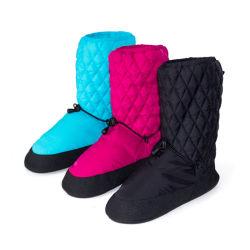 ダンスのウォーミングアップのブートのバレエの冬のトレーニングのダンスは靴のスリッパを起動する