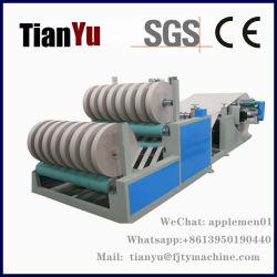 Fornitore automatico della macchina della taglierina del documento della carta kraft Per il rullo enorme della macchina di carta del tubo che fende e macchina di riavvolgimento