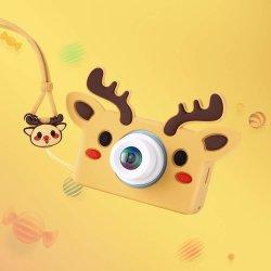 2019個の最新のクリスマスのギフトサポート写真またはビデオまたはゲームの小型子供のデジタル子供のカメラ