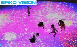 P3.91 결혼식 생존 쇼와 전람을%s 실내 임대 지면 발광 다이오드 표시 영상 스크린 LED 벽