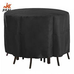 Muebles de jardín al aire libre cubierta impermeable Patio Redonda tapa de la mesa