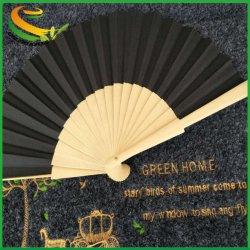 A dobragem realizada caso & Contratante Envio gratuito Japonês Chinês Sakura Cherry Blossom Pocket Bambu mão personalizados de papel do Ventilador de dobragem