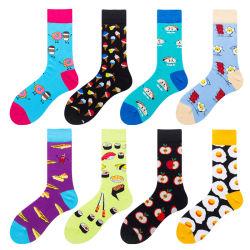 Eco freundliche Baumwolqualitäts-Form-Mann-Zoll-Socken
