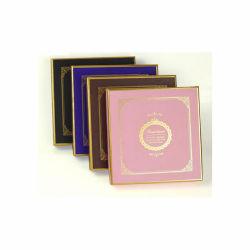 الذهب Trim Stamping هدية يعبّئ صندوق / تجميلي يعبّئ صندوق / مجوهرات صندوق التغليف / شمعة يعبّئ مربع فاخرة مخصصة