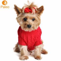 Il commercio all'ingrosso ha pettinato i vestiti di lusso dell'animale domestico del Knit del filato del cotone per il cane