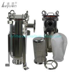 Bride à haut débit/collier sanitaire 304/316L en acier inoxydable SUS Filtre à sac
