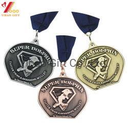 Mode de vente à chaud logo personnalisé 2D/3D'émail dur Épinglettes d'un insigne Médaille Bricolage pour cadeaux promotionnels (YB-M-004)