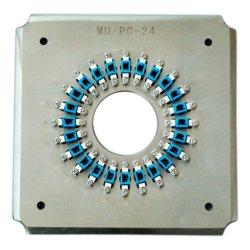 24 портов Mc/блок защиты и коммутации оптоволоконный разъем с зажимными приспособлениями для полировки держатель зажимного приспособления