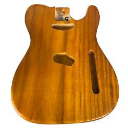 Солнце и солнечной вспышкой/природных прозрачный цвет краски незавершенной теле гитара Органа