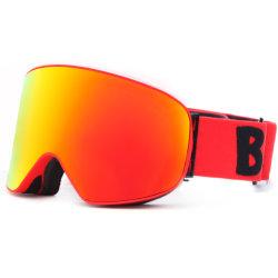니스 고글 Anti-Fog 방풍 UV 보호 눈 고글 두 배 둥근 렌즈 스키 유리있으십시오; UV400 Snowboard 스기 고글