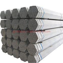 Los materiales de construcción de tuberías de acero galvanizado en caliente para poste de cerca