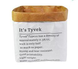 Matériau Tyvek RPET étanche Baril de pliage SAC SAC SAC DE RANGEMENT Multi pour la tenue d'accessoire et vêtement