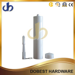 Embalaje sellante de silicona RTV 300 ml de HDPE Platsic cartuchos
