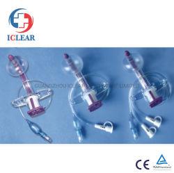 Mit innerem Cannula für Entlüfter aussondern/Doppeltes/dreifache Methoden Cuffed Tracheostomy-Gefäß-Installationssatz