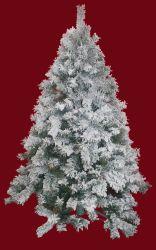 雪の綿のクリスマスツリー