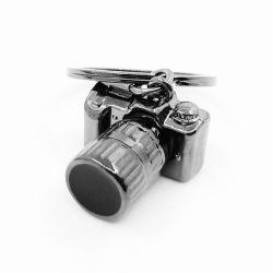 La vente de métal chaud de haute qualité de la chaîne de clé 3D de caméra