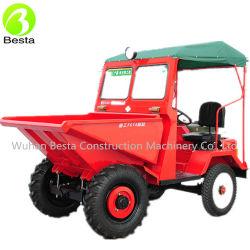 1000kg Kipwagen van de Plaats van de capaciteit de Mini met Diesel Motor