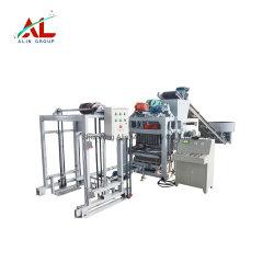 Kleber-hohler Standardziegelstein-Block-formenmaschine Qtj4-25D