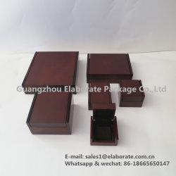 Venta caliente Vintage de la fábrica de joyas de madera con laca conjunto Package/Embalaje/cajas de regalo