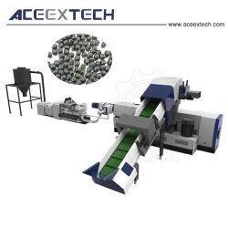 プラスチックリサイクル機械および微粒の生産