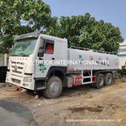 Sinotruk HOWO秒針のトラック20、000litersはスプリンクラーのトラックを使用した