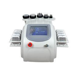 Sistema de Laser Multi Emagrecimento Lipo Cavitação + Redução de gordura celulite extracção + RF Multipolar perda de gordura