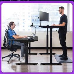 Ergonomique réglable en hauteur de levage électrique de la table du Bureau exécutif de la station de travail s'asseoir Stand Ordinateur de bureau