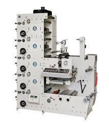 Color Flexo/impressão flexográfica Pressione para filme PVC Veste roupa lavar o cuidado de rótulo adesivo autocolante de fita chá café xícara de papel