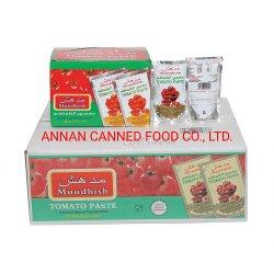 고품질 오만 기준, 100%년 순수성 좋은 품질 Muudhish 토마토 페이스트 70g