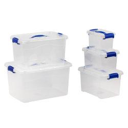 Hautement transparent PP Boîte en plastique transparent, conteneur de stockage pour l'organisation