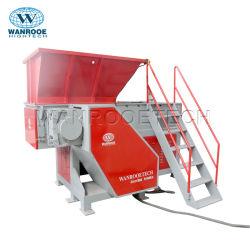 Промышленные один вал отходов металлолома фанера дерева поддон пластиковый PP/PE/HDPE/LDPE/поливинилхлоридная труба для шинковки