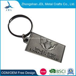 Custom рельефным логотипом старинных бронзовых металлической цепочке для ключей Custom тонкой полированной металлической магазинов передвижной медали цепочки ключей (54)