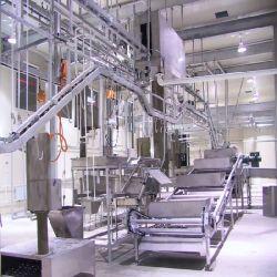 New Smaling Pig Balanced Pre-Striing Processing Station الذبح الآلة