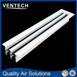Slot Linear de alumínio difusor e grelha de ar para o Slot de HVAC Difusor do Respiro de Ar