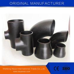 Basse température perforé en acier au carbone pour le pétrole des raccords de tuyaux de courbure