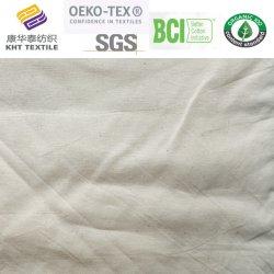 CVC Dobby Polyeater gris de tissu de coton de tissu du vêtement