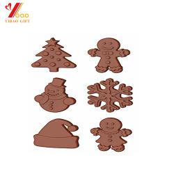 شعار خاص عالي الجودة كعكة عيد الميلاد Ice Mold من Silicone شجرة عيد الميلاد قالب أدوات المطبخ (XY-CM-333)