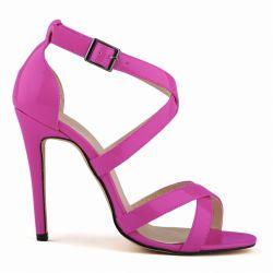 Élégant fait de la TOE Chaussures à talon haut sandale pour Fille sandales