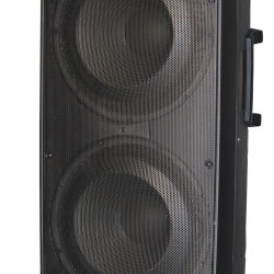 PRO 15 pulgadas de altavoces de sonido DJ Karaoke El sistema de altavoces de cine en casa