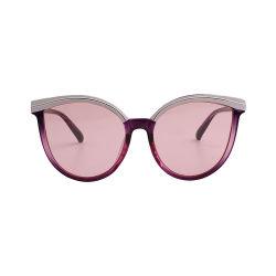 2021 Mulheres Fashion óculos de sol acessório de metal